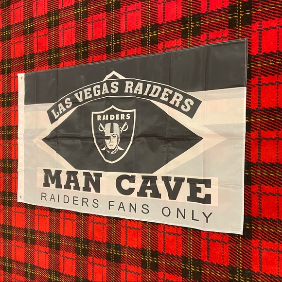 Other Brand New Las Vegas Raiders Banner Flag Poshmark